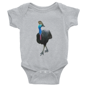 Cassowary Print Infant Bodysuit