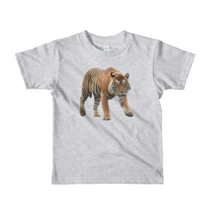 Bengal-Tiger Print Short sleeve kids t-shirt