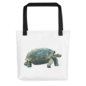 Galapagos-Giant-Turtle Print Tote bag