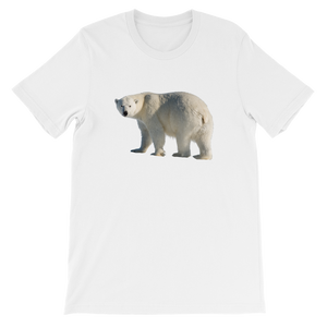 Polar-Bear Short-Sleeve Unisex T-Shirt
