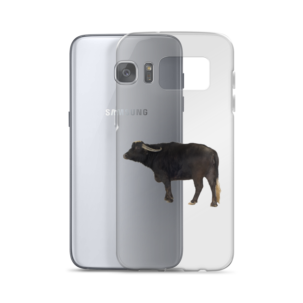 Water-Buffalo Print Samsung Case