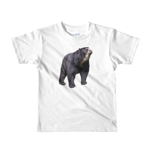 Specticaled-Bear Print Short sleeve kids t-shirt
