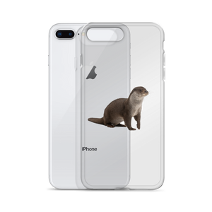 European-Otter Print iPhone Case
