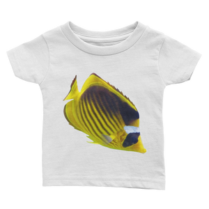 Butterfly-Fish- Print Infant Tee