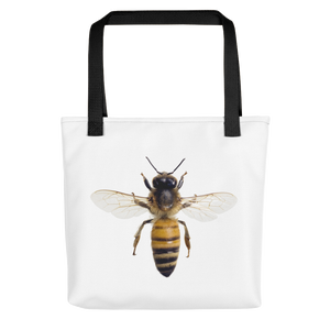 Honey-Bee Print Tote bag