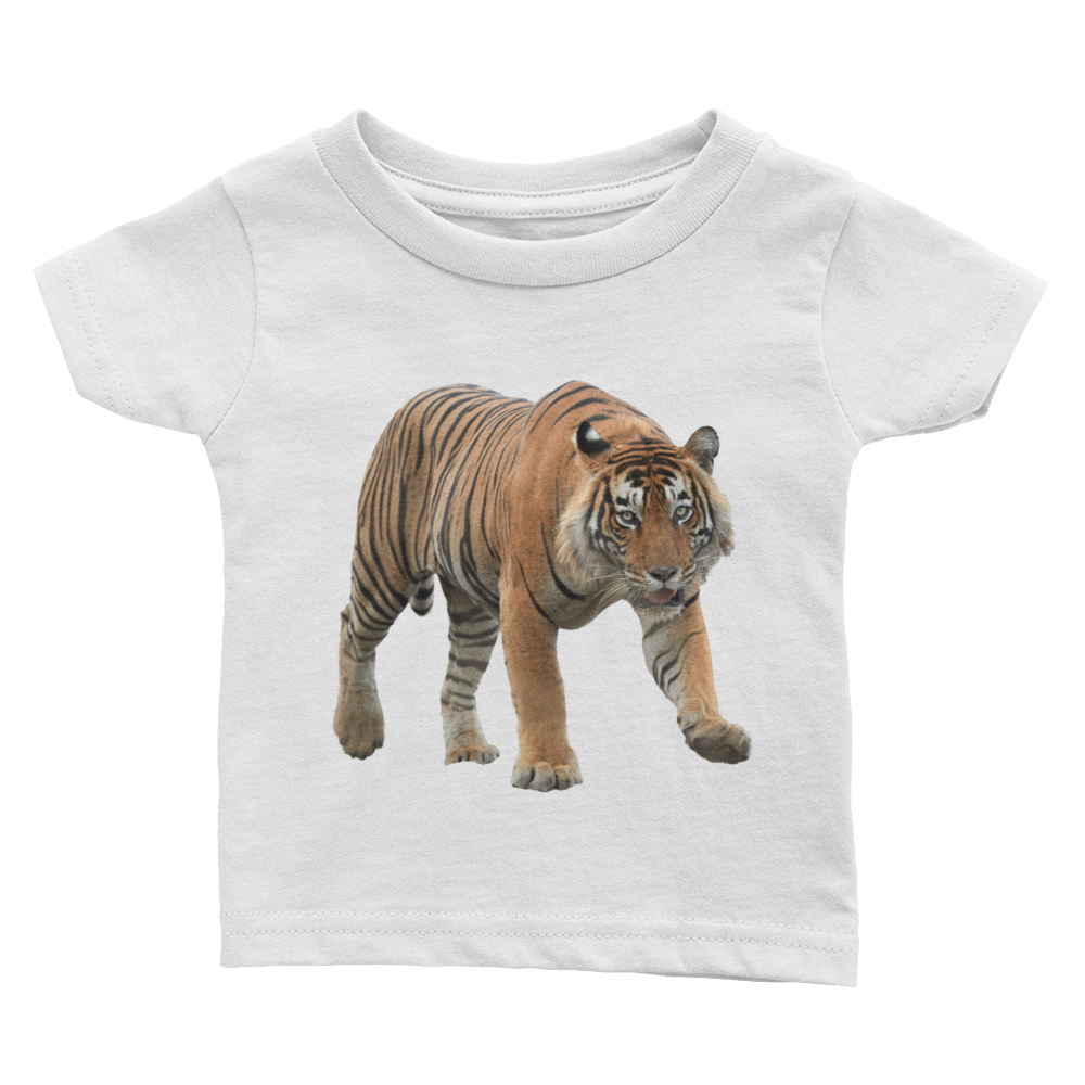 Bengal-Tiger Print Infant Tee
