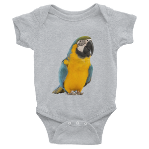 Macaw Print Infant Bodysuit