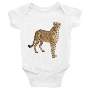 Cheetah Print Infant Bodysuit