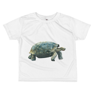 Galapagos-Giant-Turtle Print All-over kids sublimation T-shirt