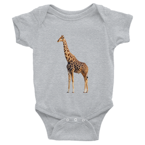 Giraffe Print Infant Bodysuit