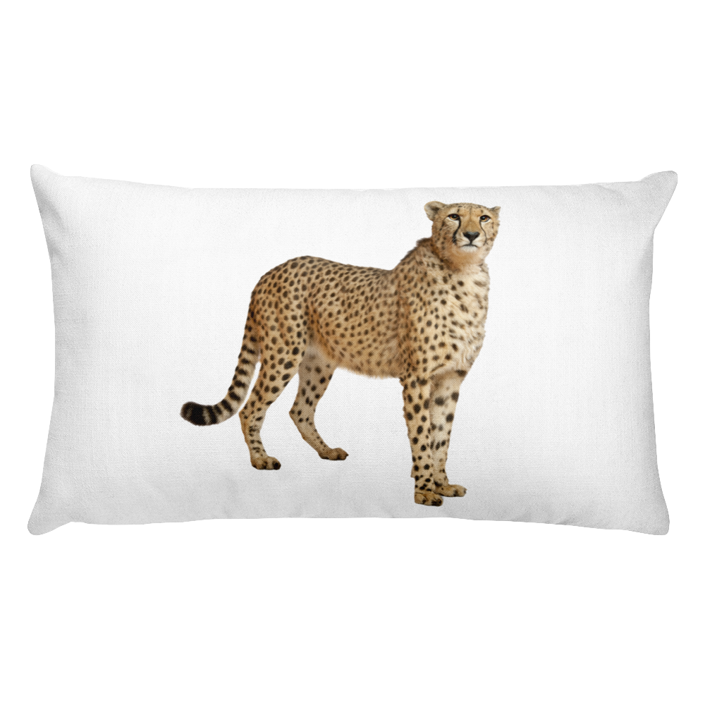 Cheetah Print Rectangular Pillow
