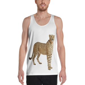Cheetah Print Unisex Tank Top