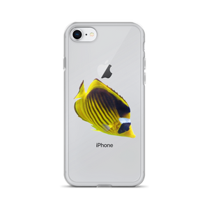 Butterfly-Fish Print iPhone Case