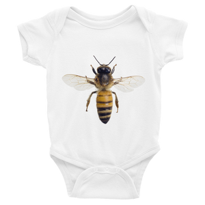 Honey-Bee Print Infant Bodysuit