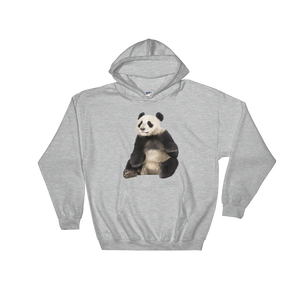 Giant-Panda Print Hooded Sweatshirt