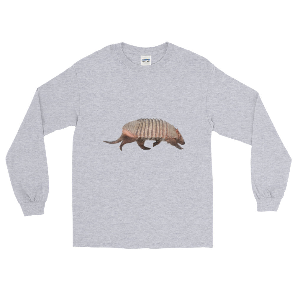 Armadillo Print Long Sleeve T-Shirt