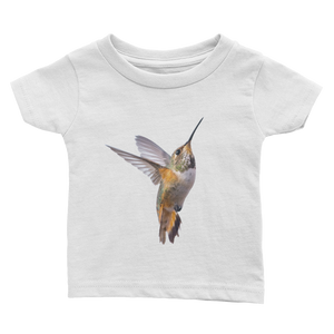 Hummingbird Print Infant Tee