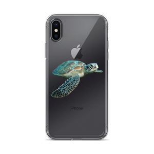 Sea-Turtle Print iPhone Case