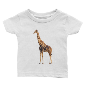 Giraffe Print Infant Tee