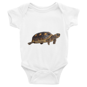 Tortoise Print Infant Bodysuit