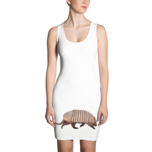 Armadillo Print Sublimation Cut & Sew Dress