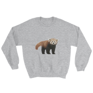 Red-Panda Print Sweatshirt