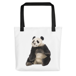 Giant-Panda Print Tote bag