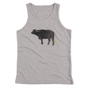 Water-Buffalo Print Youth Tank Top
