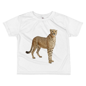 Cheetah Print All-over kids sublimation T-shirt