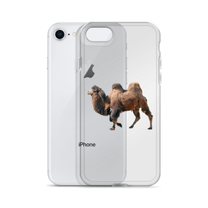 Bactrian-Camel print iPhone Case