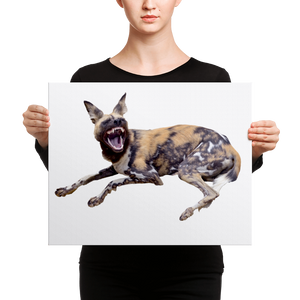 African-Wild-Dog Canvas