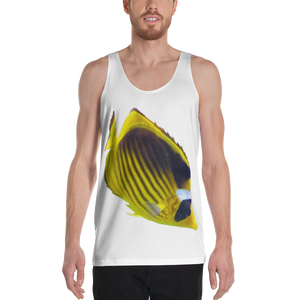 Butterfly Fish Print Unisex Tank Top