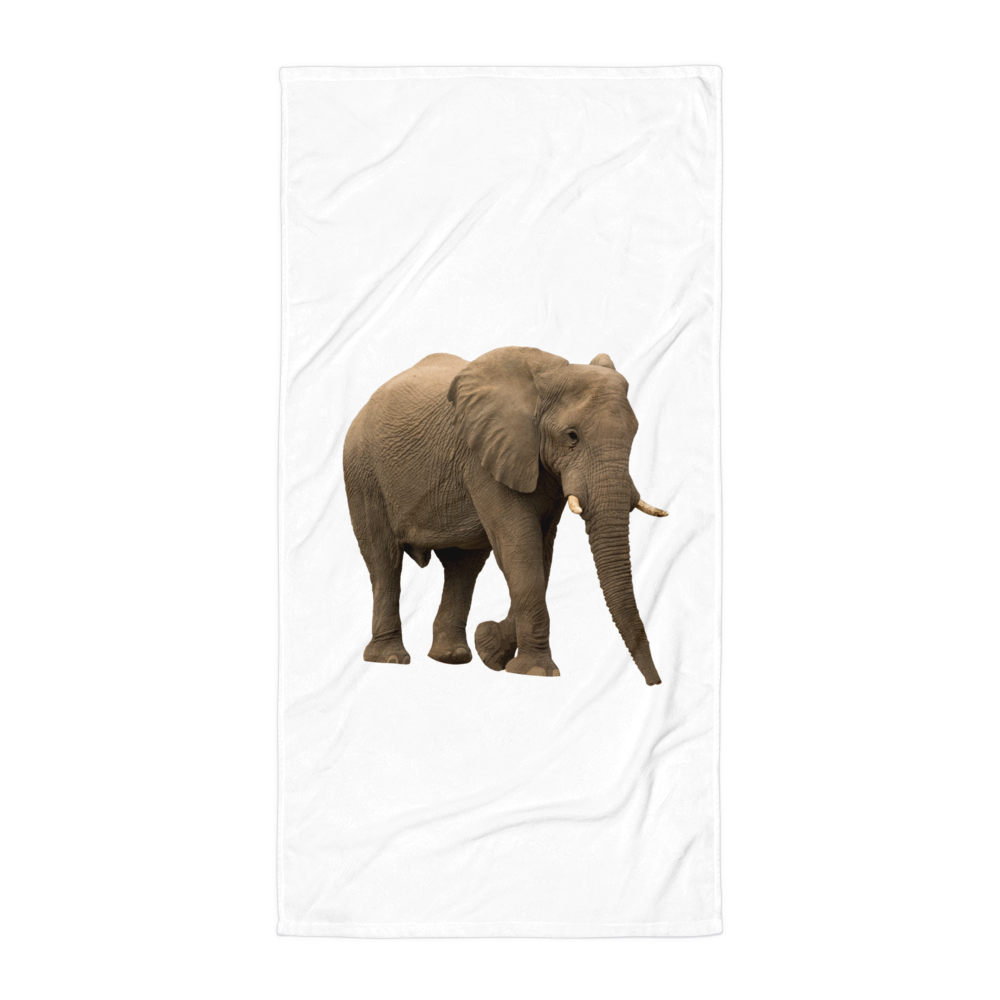 African-Forrest-Elephant Towel