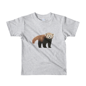 Red-Panda Print Short sleeve kids t-shirt