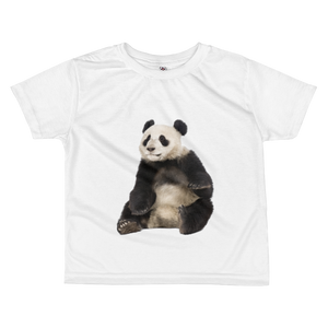 Giant-Panda Print All-over kids sublimation T-shirt
