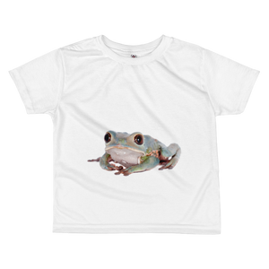 Tarsier-Frog Print All-over kids sublimation T-shirt