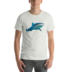 Great White Shark Print Short-Sleeve Unisex T-Shirt