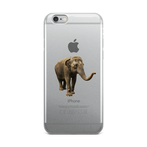Indian-Elephant Print iPhone Case