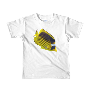 Butterfly-Fish Print Short sleeve kids t-shirt