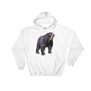 Specticaled-Bear Print Hooded Sweatshirt