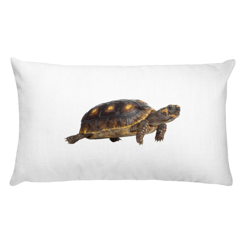 Tortoise Print Rectangular Pillow