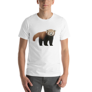Red Panda Print Short-Sleeve Unisex T-Shirt