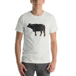Water Buffalo Print Short-Sleeve Unisex T-Shirt