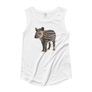 Tapir Ladies‰۪ Cap Sleeve T-Shirt