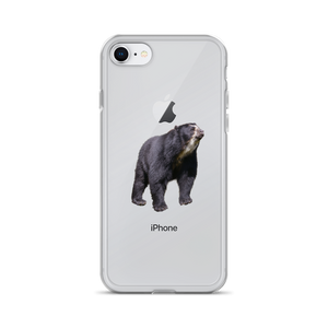 Specticaled-Bear Print iPhone Case