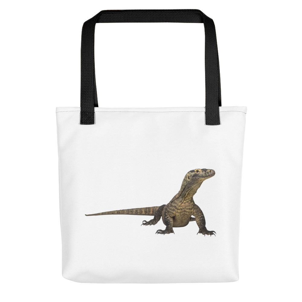 Komodo-Dragon Print Tote bag