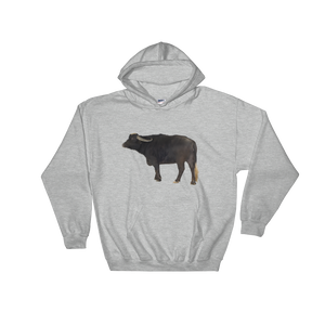 Water-Buffalo print Hooded Sweatshirt