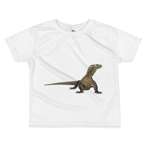 Komodo-Dragon Print All-over kids sublimation T-shirt