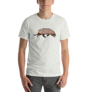 Armadillo Print Short-Sleeve Unisex T-Shirt