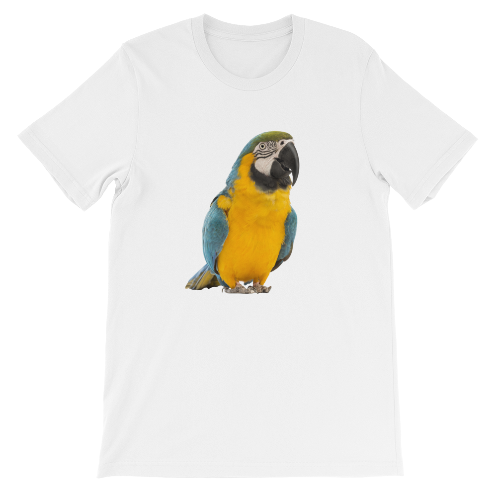 Macaw Short-Sleeve Unisex T-Shirt